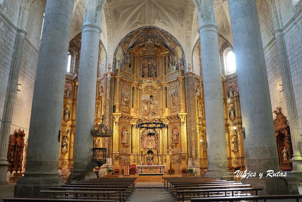 Interior de la Catedral del Vino, Cigales