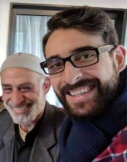 الشهيد محمد عطا عليان مؤسس مسجد النور في #نيوزيلاندا وابنه