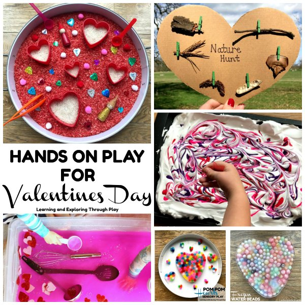 Hands on Learning for Valentines Day