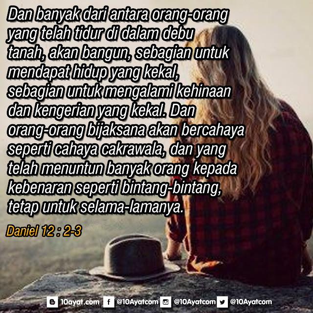 Daniel 12 : 2-3
