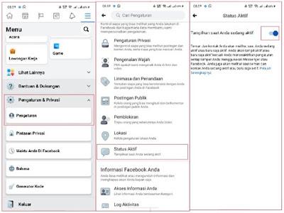 Cara Menyembunyikan Status Online di Facebook Melalui Android Ios