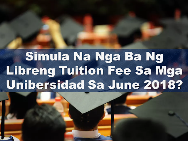 "Filipino students are about to enjoy free tuition fee in 112 State  Universities and Colleges starting June 2018 as the Commission on Higher Education (CHED) has finally released the new impementing rules and regulations (IRR).   Moreover, students belonging to the poorest family may get additional financial assistance aside from their free education. Of course, the government will verify first who will be qualified but it is reported that 500,000 students will receive the conditional cash transfer. Based on the news, qualified students can claim as much as 4,000 pesos weekly allowance to help them with their daily expenses.  Advertisement        Sponsored Links  CHED is already working on the implementing rules and regulation so it will all be ready by June 2018, just in time for the school season. Comm. Prospero De Vera said students who enrolled in state colleges and universities will not only get free tuition but also miscellaneous fees. In exchange, students are required to finish their course as scheduled.  In addition, students, rich or poor, with high grades or not, can avail the free tuition from the government as long as they enroll in the 112 state universities and colleges in the country. Moreover, students belonging to the poorest family may get additional financial assistance aside from their free education. Of course, the government will verify first who will be qualified but it is reported that 500,000 students will receive the conditional cash transfer. Based on the news, qualified students can claim as much as 4,000 pesos weekly allowance to help them with their daily expenses.   Newly appointed Commission on Higher Education (CHED) officer-in-charge (OIC) Prospero de Vera III promised to finish the implementing rules and regulations (IRR) of the free tuition law by next week.  ""My commitment is that by February 22, we would finish it and have it signed and put it out publicly after that,"" said De Vera on the sidelines of the first Philippines-United Kingdom Transnational Education Conference and Education Fair held on Friday, February 16.  He acknowledged several sectors have expressed their ""impatience"" over the delay in the publishing of the IRR, which former CHED chairperson Patricia Licuanan said was ready for signing as December 5, 2017.  But De Vera, who was appointed as OIC after Licuanan's resignation last month, said CHED is still ironing out several provisions in the IRR.  He explained it takes time to finish such provisions because Republic Act No. 10931 is a ""complicated"" law, which no other developing country in Asia has implemented before.  ""My answer is, first, it's a rather complicated law. We've never tried it. No developing country in the region has tried it. And so, a lot of the things that we're intending to do, we're starting essentially from scratch,"" said De Vera.  One tricky set of guidelines involves the national student loan program. De Vera said the provisions are difficult to craft given the bad track record of Filipino students in paying off their loans.     FREE TUITION FOR STUDENTS IN FULL SWING  Close to 900,000 students in 111 state universities and colleges (SUCs) are enjoying free tuition since June 2017 through the P8.3 Billion realigned by Congress and approved by President Rodrigo Roa Duterte in the General Appropriations Act.  Under the 2017 GAA, P8B was given to CHED to reimburse SUCs so they will not collect tuition fees from their students. P300M was allocated to provide free tuition to medical students in 8 SUCs offering medicine like UP Manila, Mariano Marcos State University, University of Northern Philippines, Cagayan State University, Bicol University, West Visayas State University, UP School of Health Sciences in Leyte, and Mindanao State University.   The CHED has downloaded almost P3 billion of the P8B reimbursement to almost all SUCs as of February 2018.  This sum covers Free Tuition granted to 888,799 enrolled students in 111 SUCs in the First Semester of SY 2017-2018. A similar number of students is expected to benefit from Free Tuition in the Second Semester of SY 2017-2018 and paid out of the remaining sum of the P8 Billion.  Almost all of the 112 SUCs have received their financial reimbursements for Free Tuition 2017 based on their Budget of Expenditures and Sources of Financing submitted to the DBM in 2016. Only two SUCs – Tawi Tawi Regional Agricultural College and Romblon State University – have not received their reimbursement for failure to submit necessary documents in compliance with the Joint Guidelines issued by the DBM and CHED in 2017.  CHED is currently processing billings for payment to all SUCs for their Second Semester enrolment and have advised all SUCs to submit complete requirements on or before February 19, 2018 to expedite payment to them.  On August 3, 2017, President Duterte signed into law RA 10931 or the Universal Access to Quality Higher Education Act to free students enrolled in SUCs and local government created universities and colleges (LUCs) who pass CHED evaluation from paying tuition and miscellaneous fees. Additional stipends will also be provided to poor students for their tertiary education. Congress has allocated P40 Billion in the 2018 General Appropriations Act for this landmark law.  The UniFAST Board will soon publish the enhanced Implementing Rules and Regulations of RA 10931 to fully implement this law which includes Free Higher Education, Free TVET, Tertiary Education Subsidy, and the Student Loan Program.  (signed) J. Prospero E. De Vera III, DPA Officer-in-Charge and Spokesperson Commission on Higher Education  Read More:  Is It True, Duterte Might Expand Overseas Workers Deployment Ban To Countries With Many Cases of Abuse?  Do You Agree With The Proposed Filipino Deployment Ban To Abusive Host Countries?  Body Of Household Worker Found Inside A Freezer In Kuwait; Confirmed Filipina  Senate Approves Bill For Free OFW Handbook  Overseas Filipinos In Qatar Losing Jobs Amid Diplomatic Crisis—DOLE How To Get Philippine International Driving Permit (PIDP)  DFA To Temporarily Suspend One-Day Processing For Authentication Of Documents (Red Ribbon)    SSS Monthly Pension Calculator Based On Monthly Donation    What You Need to Know For A Successful Housing Loan Application    What is Certificate of Good Conduct Which is Required By Employers In the UAE and HOW To Get It?    OWWA Programs And Benefits, Other Concerns Explained By DA Arnel Ignacio And Admin Hans Cacdac  ©2018 THOUGHTSKOTO  www.jbsolis.com"