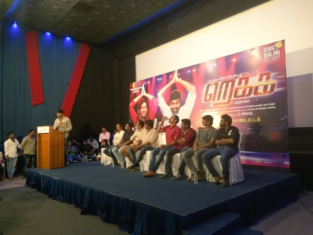 Rekka Tamil Movie Press Meet Stills