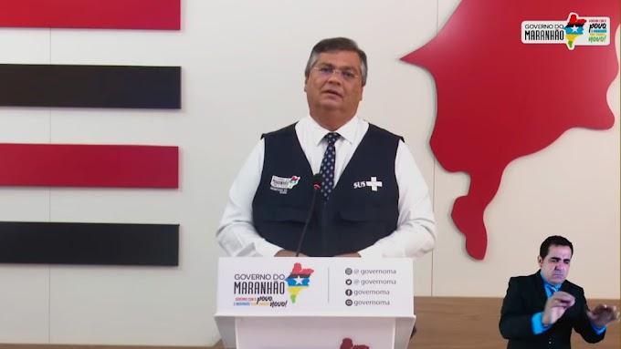 Flávio Dino anuncia vacinação contra covid-19 para profissionais de comunicação