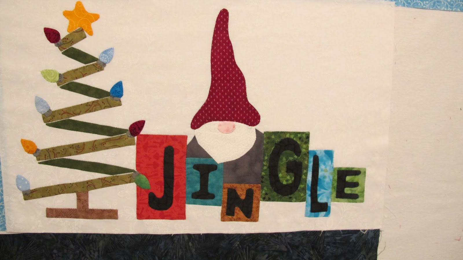 Mm mm felt applique christmas tree feltie clippitybits