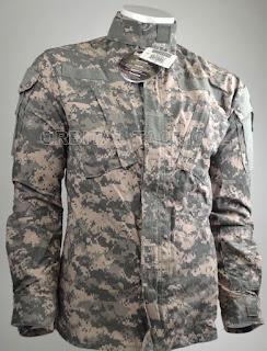 NEW ARMY FR FLAME RESISITANT USGI ACU UNIFORM SHIRT FRACU