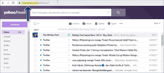 Dan beginilah cara menghapus seluruh pesan pada Yahoo Mail Anda.