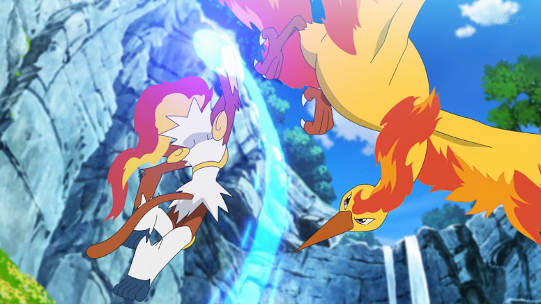 Jornadas Pokémon Infernape e Moltres