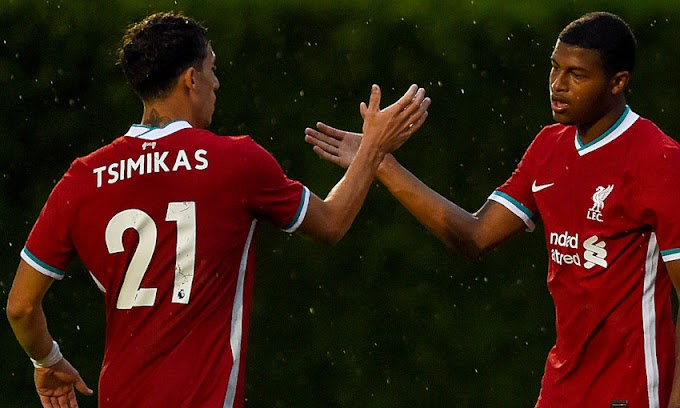 Liverpool new fullback Kostas Tsimikas made his first debut in victory over Stuttgart
