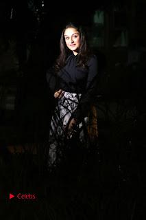Actress Sonia Agarwal Stills in Black Top at Yevanavan Tamil Movie Audio Launch Event  0027.jpg