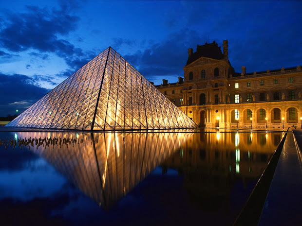 Louvre Paris Tourist Destinations