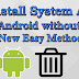 How to Uninstall System Apps from Android without Root Easy method 2020