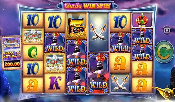 Main Gratis Slot Indonesia - Genie Jackpots Megaways (Blueprint Gaming)