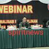 Pangdam Hasanuddin Pimpin Webinar Sejajaran dan Forkompimda di Wilayah Sulsel, Sulbar dan Sultra