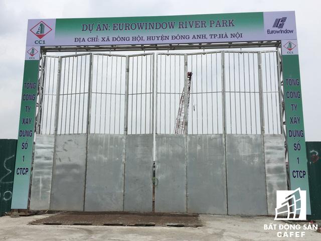 Cổng chào dự án Eurowindow River Park
