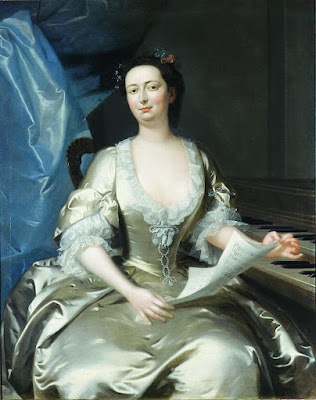 Catherine (Kitty) Clive by Willem Verelst 1740