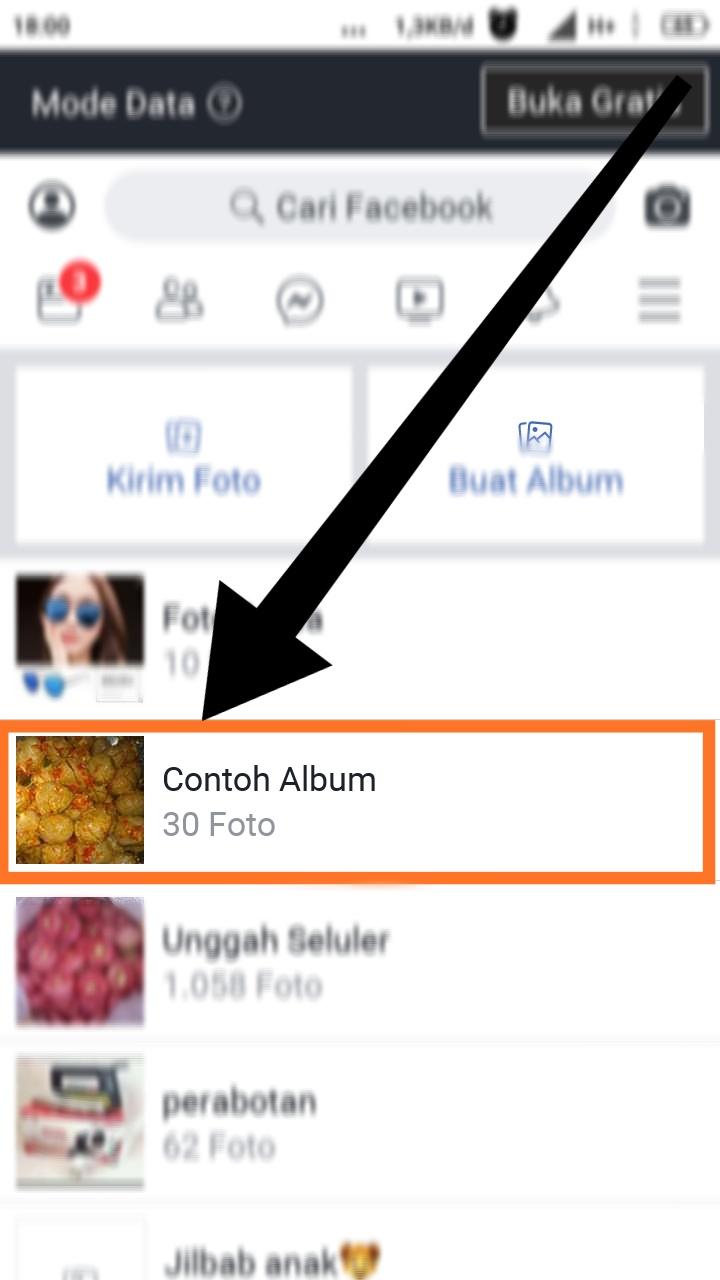 cara menghapus semua foto unggahan di facebook