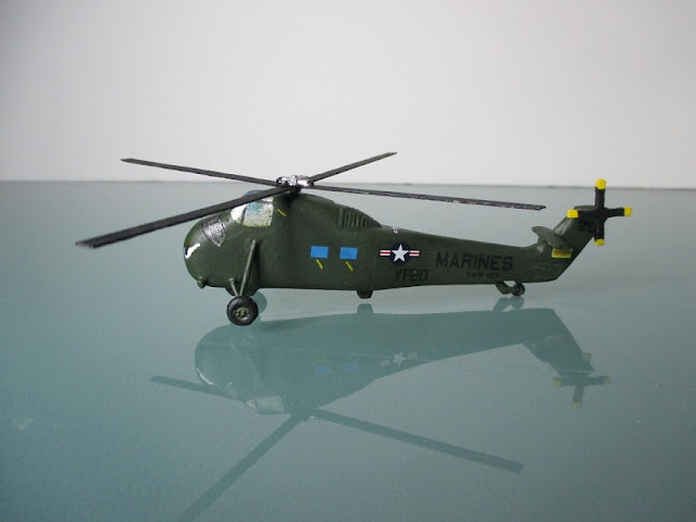 1/144 Sikorsky S-58 H-34 Choctaw diecast aircraft