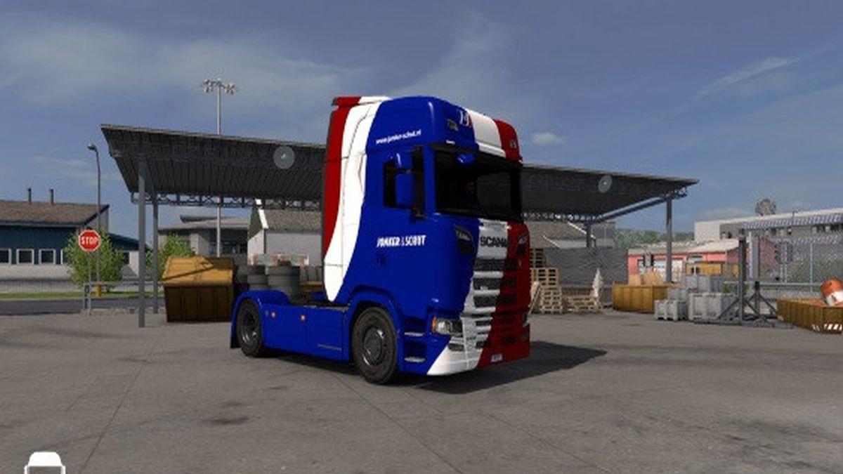 Jonker & Schut Skin for Scania S