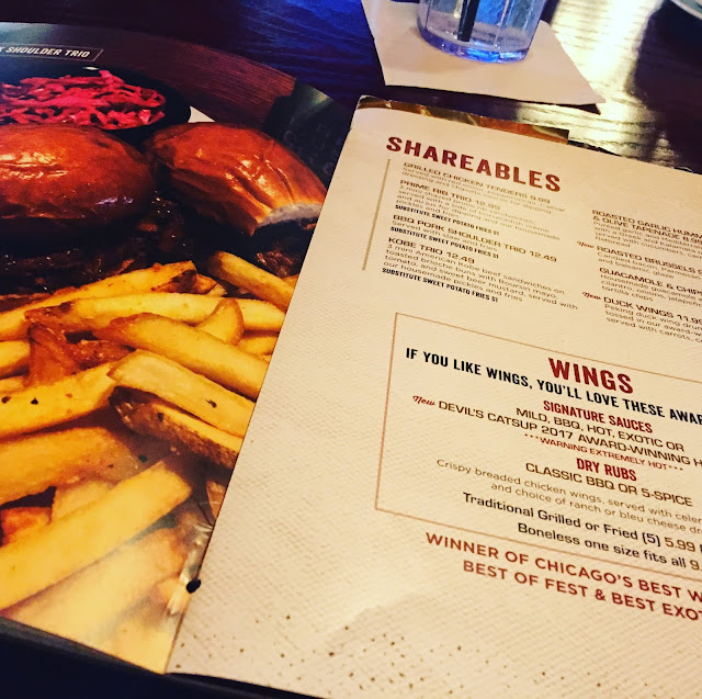 Large menu full of tons of options at Tap House Grill