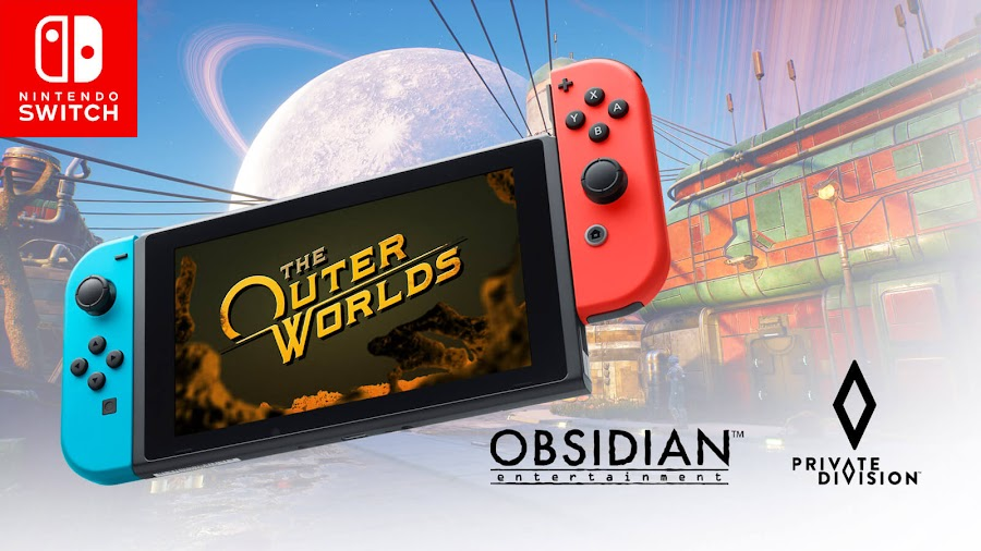 the outer worlds nintendo switch obsidian entertainment private division sci fi action rpg 2019