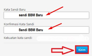 solusi lupa password bbm