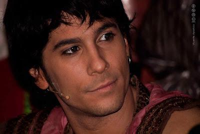 """Josep Gasent como Aladin en """"Aladin, un musical genial"""""""