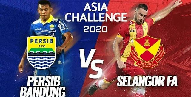 Live Streaming Selangor vs Persib Bandung 18.1.2020 Asia Challenge