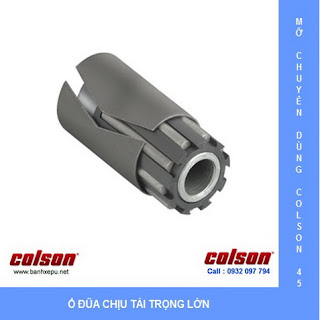 Bánh xe công nghiệp PU Colson chịu lực 540kg 6 inch | 6-6208-939 banhxedaycolson.com dùng ổ đũa