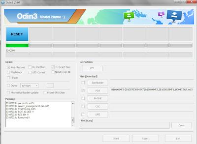 Upgrade Samsung Galxy Ace 2 ke Jelly Bean Via Odin ...