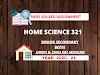 HOME SCIENCE (321) | NIOS FREE SOLVED ASSIGNMENTS (2020-21) | TMA | 20-21 ENGLISH MEDIUM