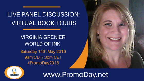LIVE Panel Discussion About Virtual Book Tours at #PromoDay2016