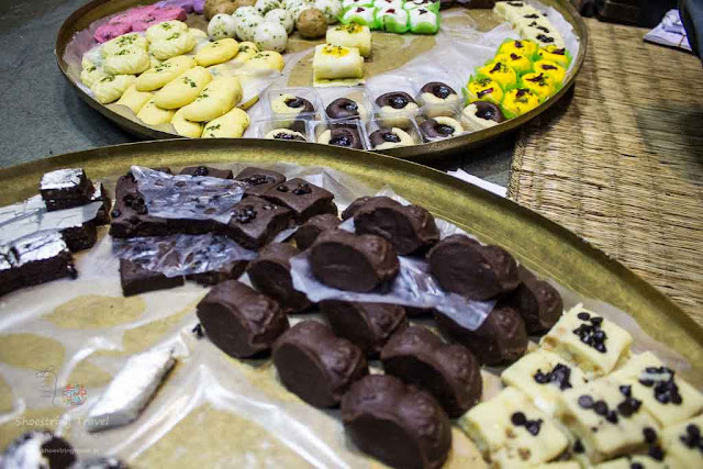 chocolate sandesh of Nalin Chandra Das Heritage sweet shop in Kolkata