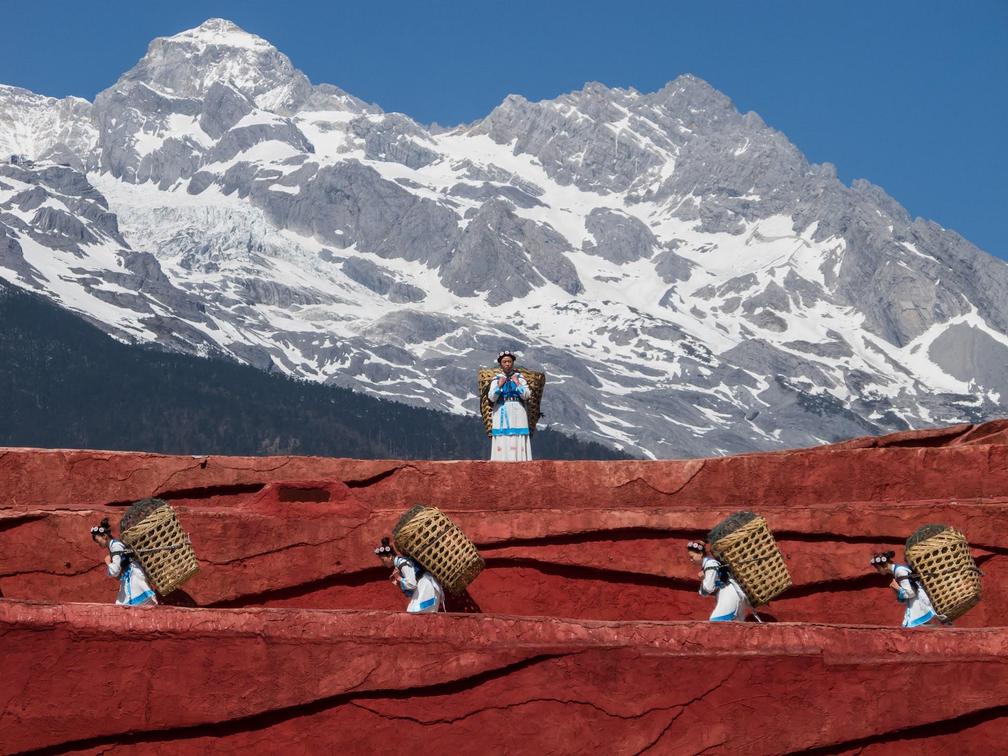 Jade Dragon Snow Mountain China
