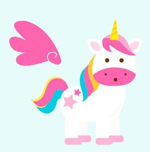 Imágenes de unicornios para imprimir