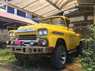 Dijual Truck Klasik Chevy Apache 1959 Original Taste