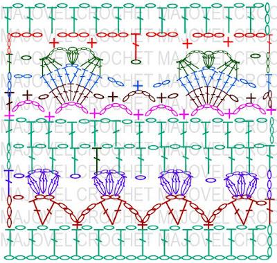 Crochet patron puntada con marca de agua - copia