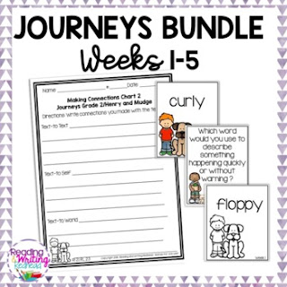Cover of Journeys weeks 1-5 bundle