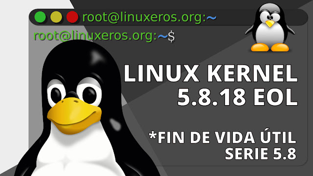 Linux Kernel 5.8 llega al final de su vida útil