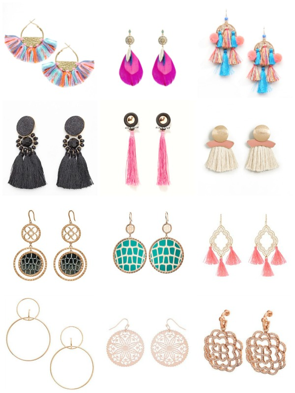 Statement earrings shopping picks - Ioanna's Notebook