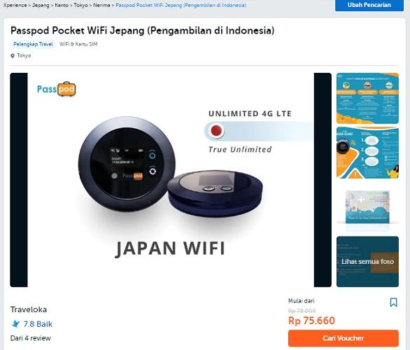 passpod pocket wifi jepang menuntaskan rindu pada jepang dengan traveloka xperience