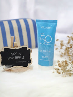Review Wardah UV Shield Aqua Fresh Essence SPF 50