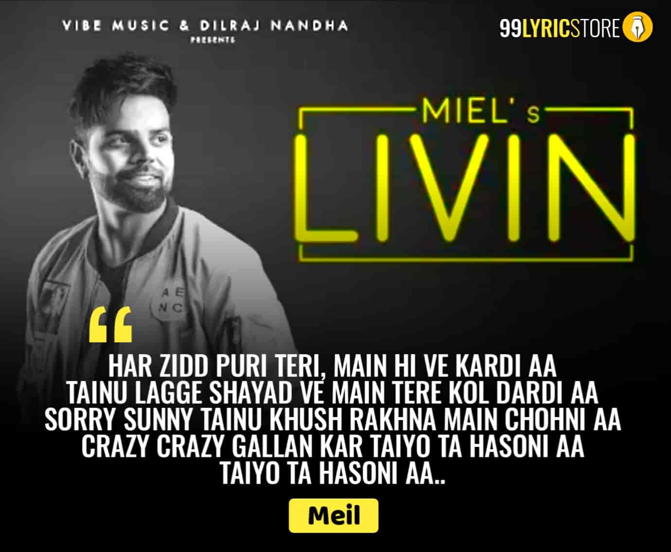 Living beautiful punjabi song sung by Meil