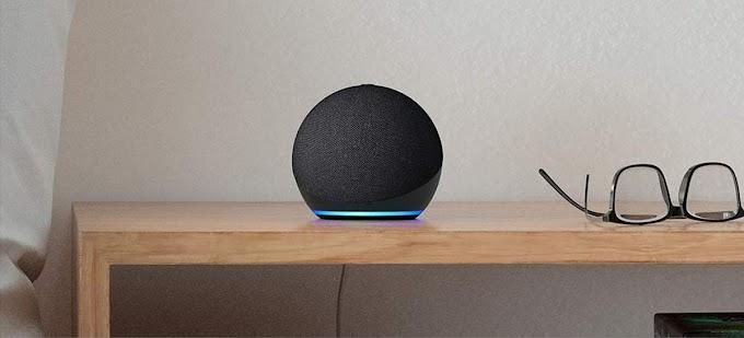 Sorteio de um Echo Dot 4ª geração