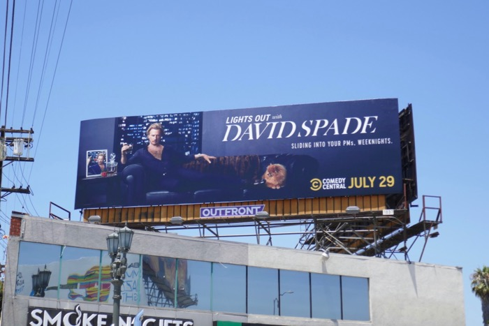 Lights Out David Spade series billboard