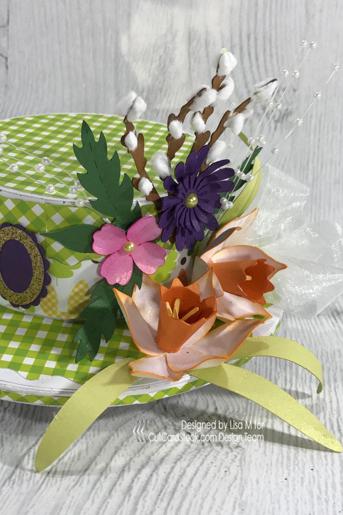Easter Bonnet Gift Cutcardstock Com