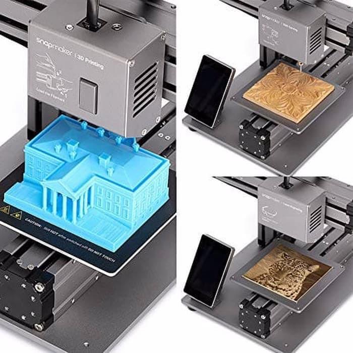 lasermetalprinter laser engravercnc routerlaser cutterkickstartercnc carvingcnc machinemodular Snapmaker 1.0 3-in-1 3D Printer