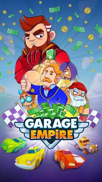 Garage Empire Hileli APK - Para Elmas Hileli APK v1.5.7