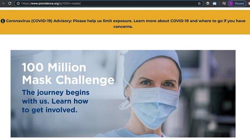 100 million mask challenge