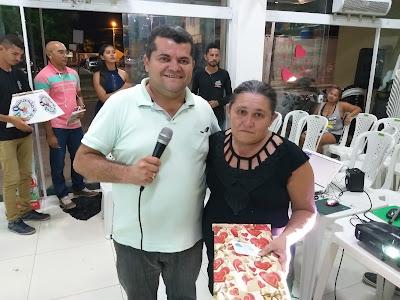 Mais um Sorteio do Grupão do Moto Prêmios em Piracuruca, com distribuição de brindes, entrega de premiações e muita animação: